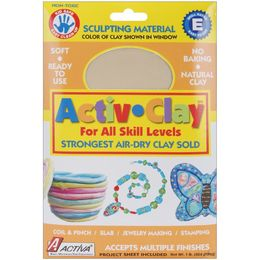 Activa - Activ-Clay Air-Dry Clay 1lb - White 160A - Modeling Clay