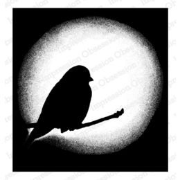 Impression Obsession Cling Stamp - Hallo Bird 16411-CLG