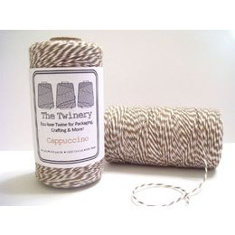 The Twinery - Cappuccino Brown Twine 240-yard Spool