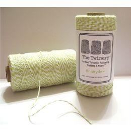 The Twinery - Honeydew Chartreuse Green Twine 240-yard Spool