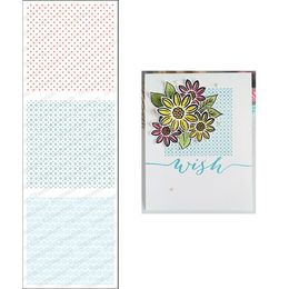 Impression Obsession Cling Stamp Set - Mini Patterns 2 3164-LG