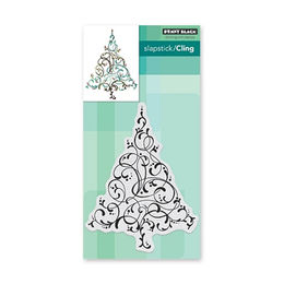 Penny Black Cling Stamp - Flourishing Tree 3.9x5.3 in 40-639