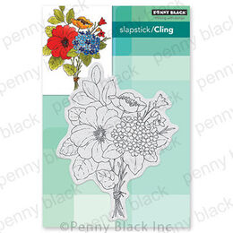 Penny Black Cling Stamp - Bouquet Ballet 40-674