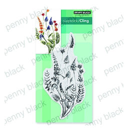 Penny Black Cling Stamp - A Floral Twist 40-676