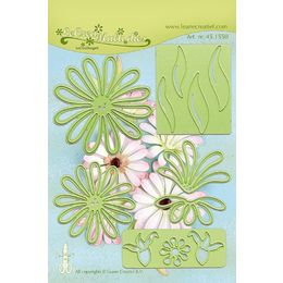 Lea'bilities Cutting & Embossing Dies - FLOWER 9 CHRYSANT 45.1550