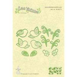 Lea'bilities Cutting & Embossing Dies - LITTLE BIRDS 45.8572