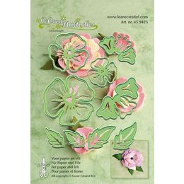 Lea'bilities Multi Cutting & Embossing Dies - Flower Set No.5 - 45.9425