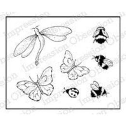 Impression Obsession Stamps - Insect Set D5642