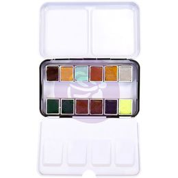 Prima Watercolour Confections Watercolor Pans 12/Pkg - Essence