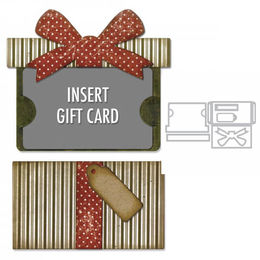 Sizzix Thinlits Dies By Tim Holtz - GIFT CARD PACKAGE 662417
