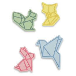 Sizzix Thinlits Dies Set By Olivia Rose (8Pk) - ORIGAMI STYLE ANIMALS 663319