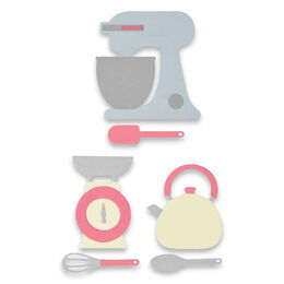 Sizzix Thinlits Dies Set By Georgie Evans (10Pk) - KITCHEN SET 663323