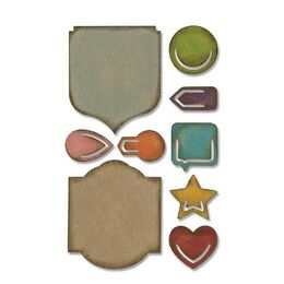 Sizzix Sidekick Side-Order Set by Tim Holtz - NOTED 664150