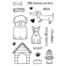 Jane's Doodles Clear Stamps - Dogs 742576