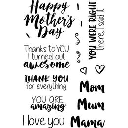 Jane's Doodles Clear Stamps - Mother's Day 743139