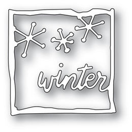 Memory Box Dies - WINTER JOURNAL FRAME 94093