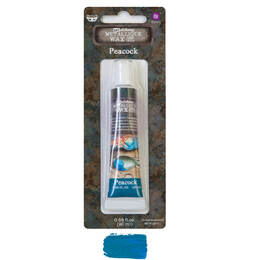 Finnabair Art Alchemy Metallique Wax 0.68 oz - Peacock