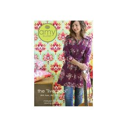 "Amy Butler Sewing Patterns - The ""Liverpool"" Tunic / Shirt Dress"