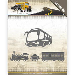Amy Design Daily Transport Dies - Public Transport ADD10131