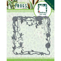 Amy Design Friendly Frogs Dies - Frog Frame ADD10227