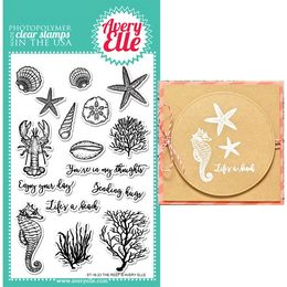 Avery Elle Clear Stamp - The Reef AE1623