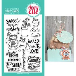 Avery Elle Clear Stamp - Sweet Tidings AE1640