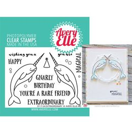 Avery Elle Clear Stamp - Extraordinary AE1724