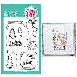 Avery Elle Clear Stamp - Warm Wishes AE1726