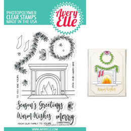 Avery Elle Clear Stamp - Fireside AE1825