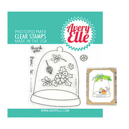 Avery Elle Clear Stamp - Cloche AE1929