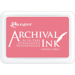 Ranger Archival Ink Pad - Coastal Coral AIP69300
