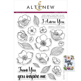 Altenew Clear Stamps -Adore You