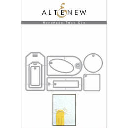 Altenew Dies Set - Handmade Tags ALT1617
