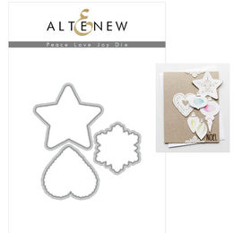 Altenew Dies Set - Peace Love Joy ALT2687