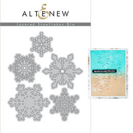 Altenew Dies Set - Layered Snowflakes Die Set - ALT2708