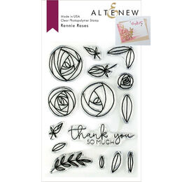 Altenew Clear Stamps - Rennie Roses