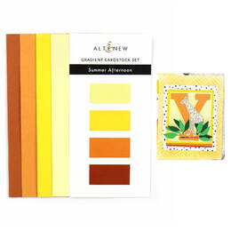 Gradient Cardstock Set - Summer Afternoon ALT3236