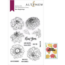 Altenew Clear Stamps - New Beginnings ALT3719S