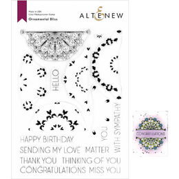 Altenew Clear Stamps - Ornamental Bliss ALT3722