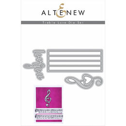 Altenew Dies Set - Treble Love ALT3951