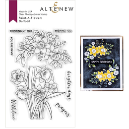 Altenew Clear Stamps - Paint-A-Flower: Daffodil ALT4193
