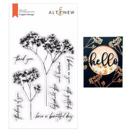 Altenew Clear Stamps - Fragile Foliage ALT4266