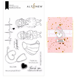 Altenew Clear Stamps - Healthcare Heroes ALT4301
