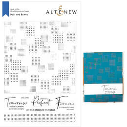 Altenew Clear Photopolymer Stamps - Dots and Boxes ALT4669