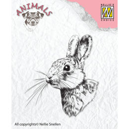 Nellie Snellen Animals Clear Stamps - Rabbit-2 ANI015