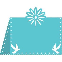 Cheery Lynn Designs Dies - Flower and Doves Placecard #1 - B299