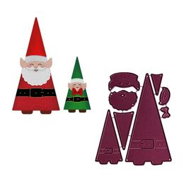 Cheery Lynn Designs Dies - Santa and Elf (8 pcs) B920