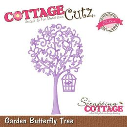 CottageCutz Dies - Garden Butterfly Tree (Elites) CCE-105