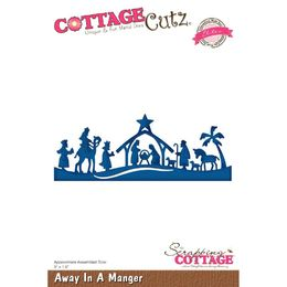 CottageCutz Dies - Away In A Manger (Elites) CCE482