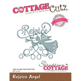 "CottageCutz Dies - Rejoice Angel 2.8""X2.5"" (Elites) CCE524"